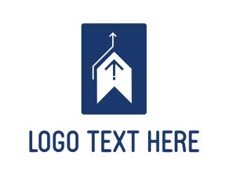 Consulting - Up Arrow logo design