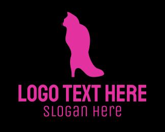 Domestic - Cat Boot logo design