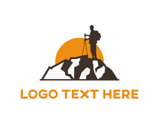 Adventure - Sunset & Travel logo design