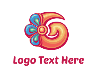 Hawaii - Flower Jewels logo design