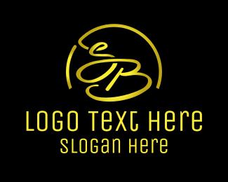 Letter S - S & B logo design
