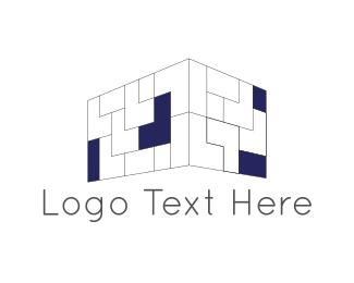 Room - Brick Wall logo design