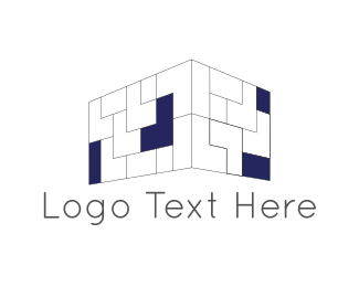 Wall - Brick Wall logo design
