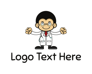 Monkey - Monkey Doctor logo design