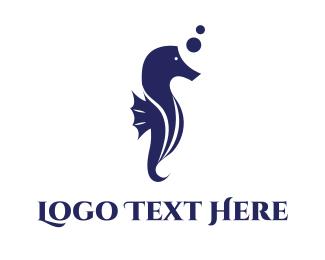 """Aquatic Seahorse"" by FishDesigns61025"