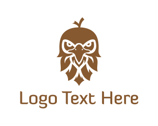 Acorn - Brown Eagle logo design