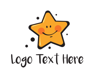 Baby - Smiling Star logo design