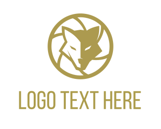 Fox - Wolf Photo logo design