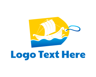 Supermarket - Ship Tag  logo design