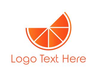 Citric - Orange Fruit logo design