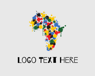 Colorful - Africa Color logo design