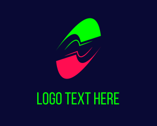 Motion - Neon Motion logo design