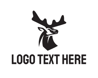 Doe - Deer logo design