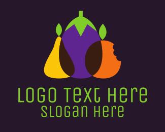 Fruit - Fruit & Vegetables logo design
