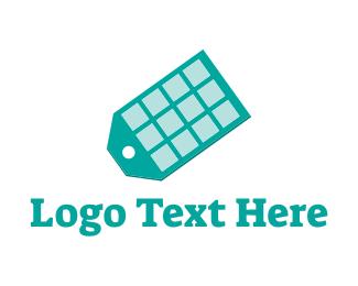 Coupon - App Tag logo design