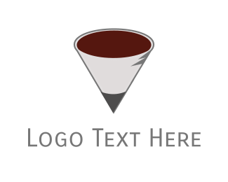 Writer - School Cafeteria logo design