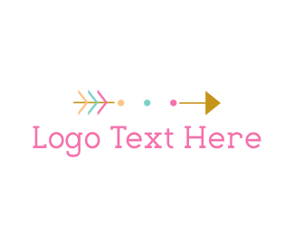 Tribal - Cute Arrow logo design