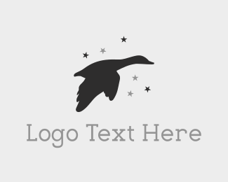 Hunting - Star Duck logo design