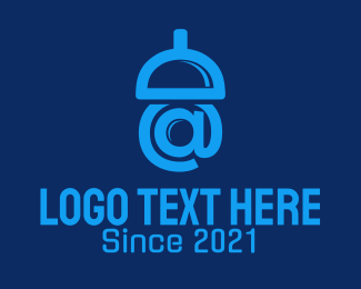 At - Acorn Mail logo design