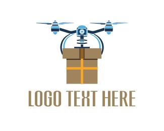 Drone - Drone Box logo design