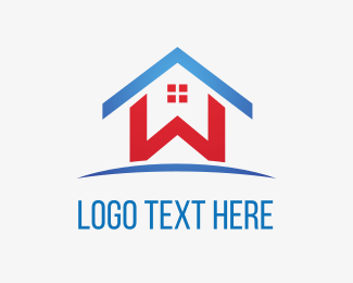 Realtor - Home Letter W logo design