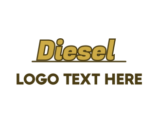 Wordmark - Gold Automotive Wordmark logo design