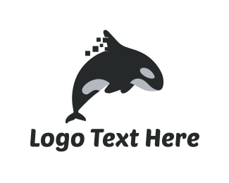 Orca - Killer Whale logo design