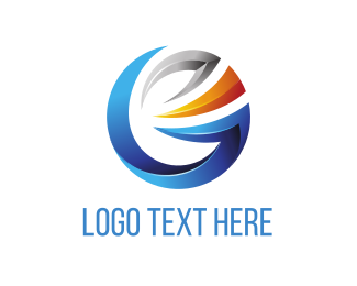 Tech - Corporate Circle logo design