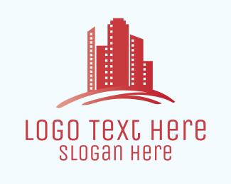 Broker - Tall Buildings logo design