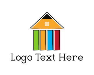 Paint - Pen House logo design