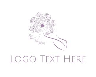 """Purple Dandelion"" by LogoBrainstorm"