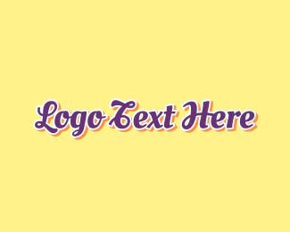 Confectionery - Sporty & Vintage logo design