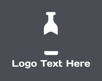 Milk - White Bottle  logo design