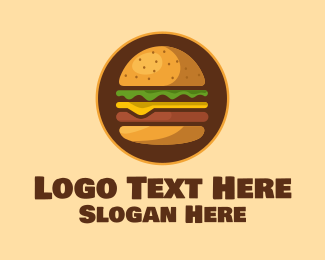 Beef - Big Beef Burger logo design