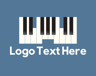 Pianist - Piano Castle logo design