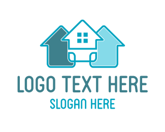 Real Estate Houses Logo Maker