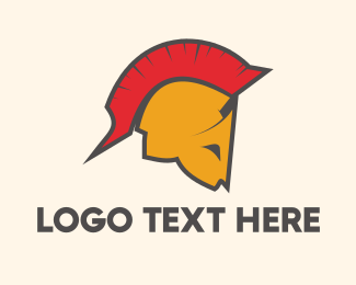 Safety - Spartan Helmet logo design