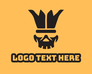 Gaming - Buffoon Skull logo design