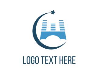 Heaven - Sky Castle logo design