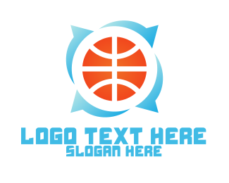 Sport Team - Basketball Circle logo design