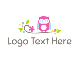 Cute - Cute Owl logo design