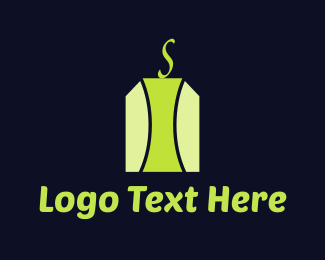 Tea - Green Tea Bag logo design