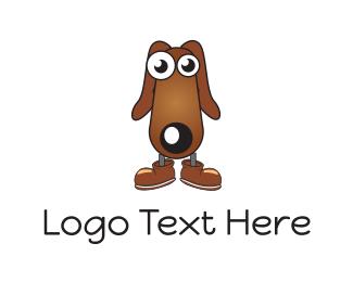 Shoe - Dog Shoes logo design
