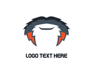 Male - Electric Mustache logo design