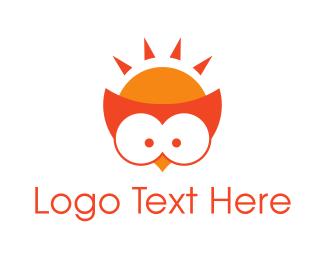 """Orange Owl"" by rossini11"