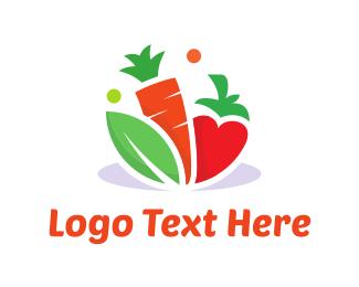 Grocery - Vegetable Food logo design