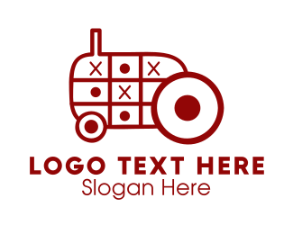 Farmer - Tractor Toy logo design