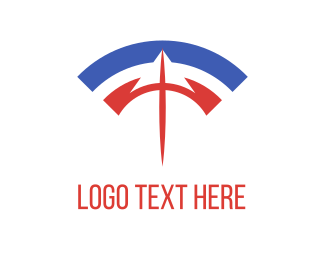 Spear - Spear & Wifi logo design