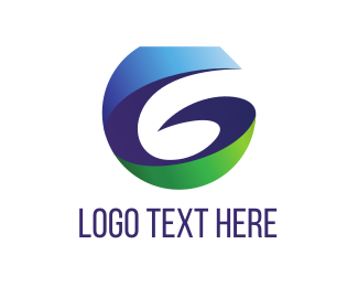 Twist - Blue Letter G logo design