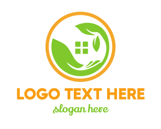Green House - Greenhouse Circle logo design